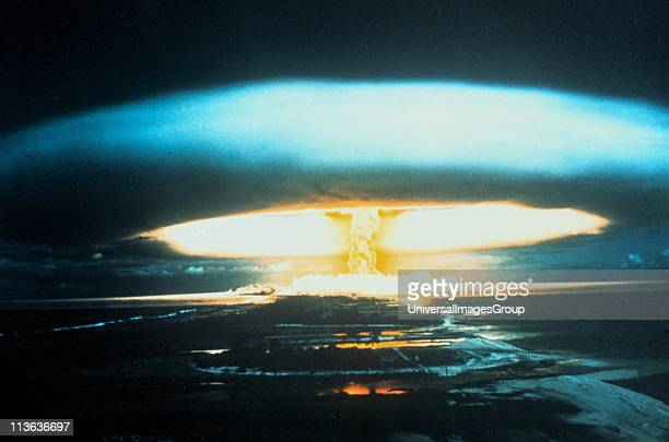 150megaton thermonuclear explosion Bikini Atoll l March 1854 Unexpected spread of fallout led to awareness of and research into radioactive pollution...