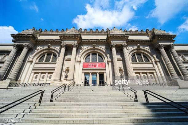 150 aniversario museo metropolitano de arte - met art gallery fotografías e imágenes de stock