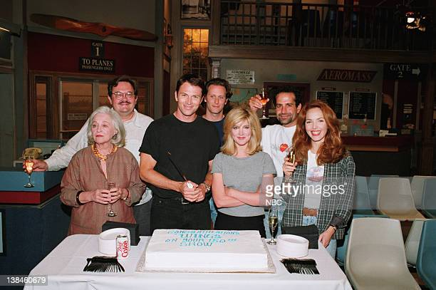 WINGS 150th Episode Party Pictured Rebecca Schull as Fay Evelyn Schlob Dumbly DeVay Cochran David Schramm as Roy Biggins Tim Daly as Joe Montgomery...