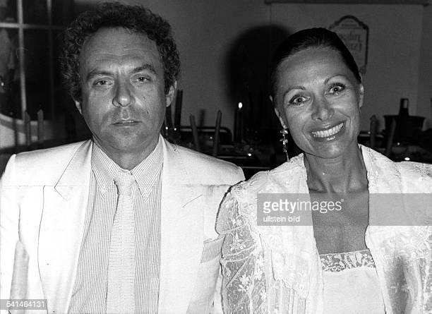 *Schauspielerin Dmit ihrem Lebensgefährten Dr Peter Porkert vermutlich Mitte der 1980er Jahre