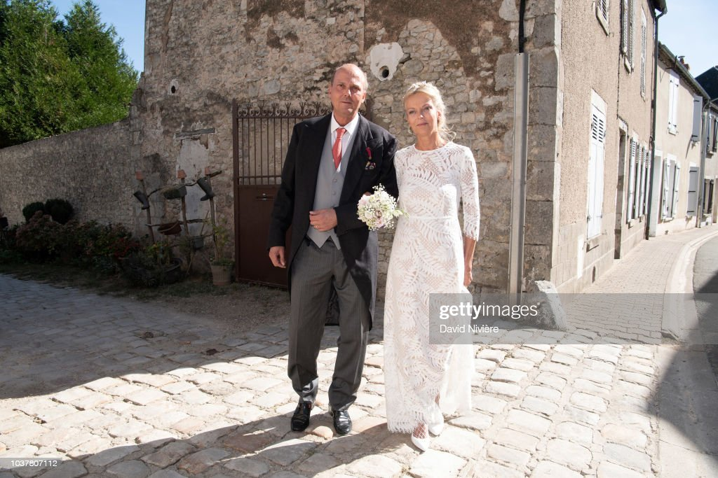 Wedding Of Helene Of Yugoslavia And Stanislas Fougeron : News Photo