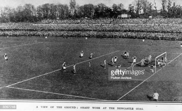 The FA Cup final between Aston Villa and Newcastle United at Crystal Palace London which Villa won 20