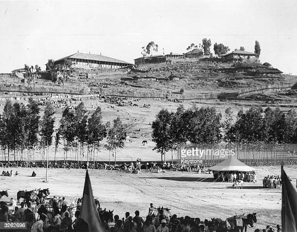 Italian troops take the Abyssinian Emperor's northern headquarters at Desses near Addis Ababa