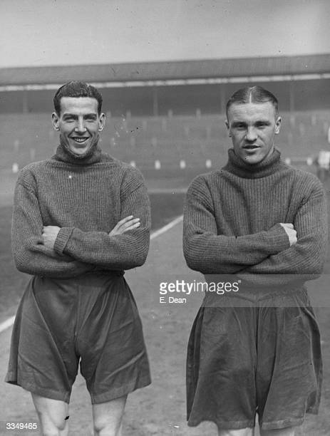 Footballers H O'Donnell and Bill Shankly of the Preston North End Cup Final team Scottish footballer Bill Shankly was capped five times for his...