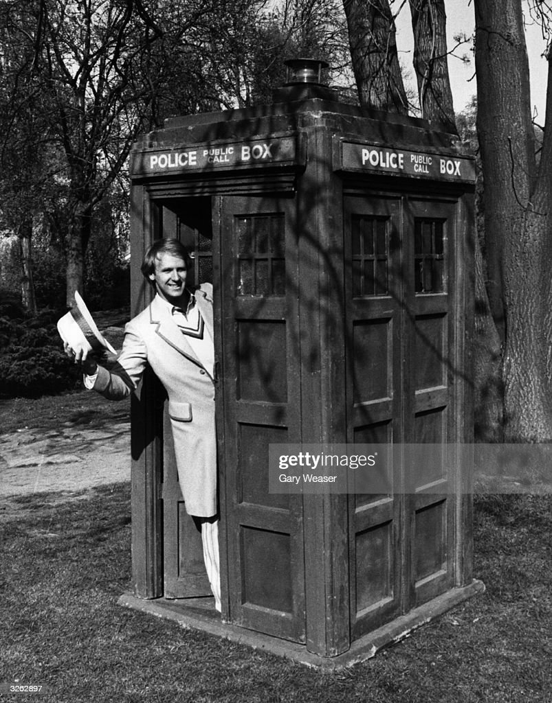 The Fifth Dr Who : News Photo