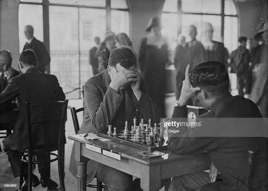 Chess Concentration : News Photo