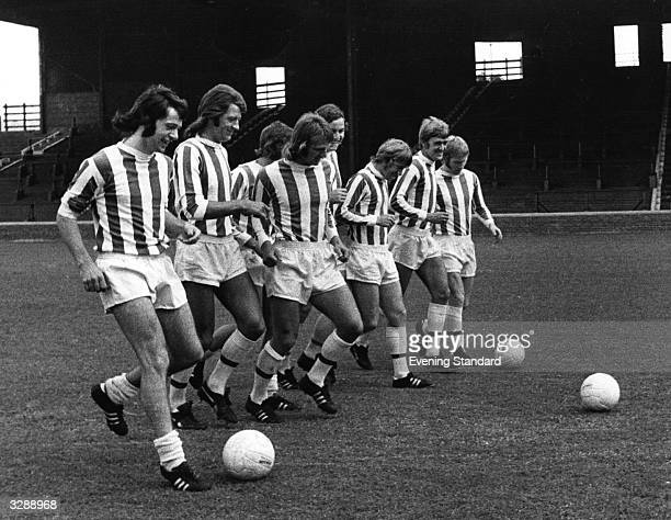 Huddersfield Town FC including the players Frank Worthington and Jimmy McGill