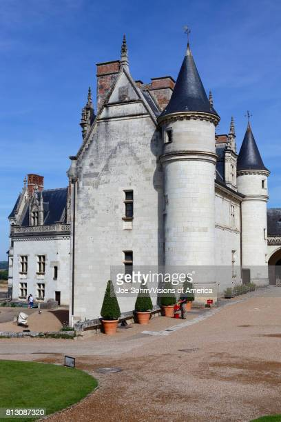 15th century castle Ch‰teau de Chaumont acquired by Catherine de Medici in 1560 ChaumontsurLoire LoiretCher France