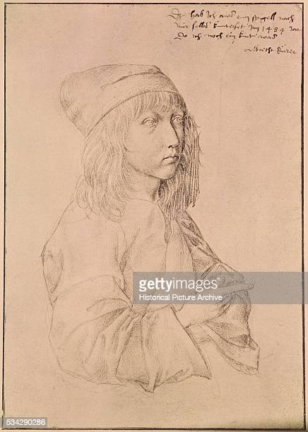 15th Century Selfportrait of Albrecht Durer
