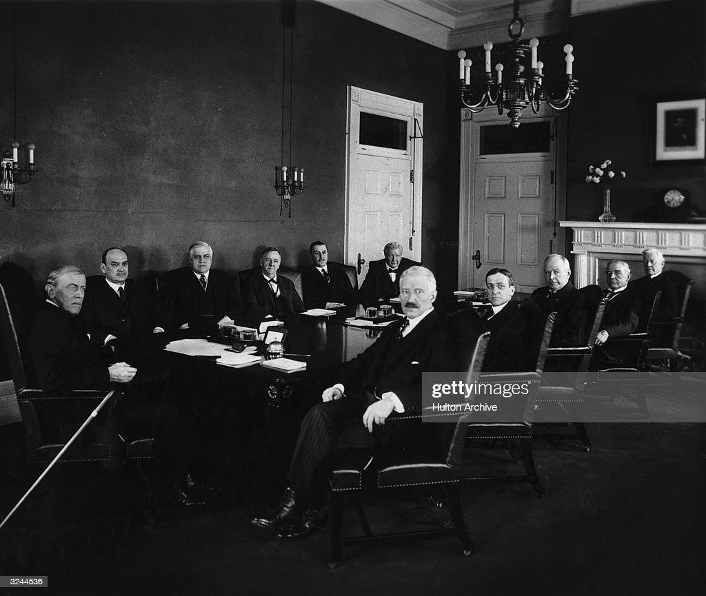 Woodrow Wilson News Photo