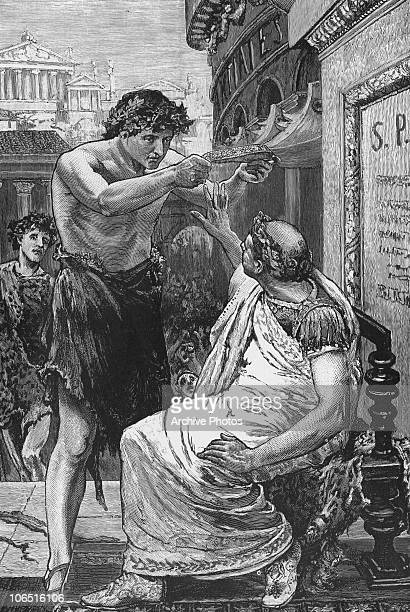 Roman general and statesman Julius Caesar thrice refuses the crown from Mark Antony during the Lupercalia festival This episode is recounted in...