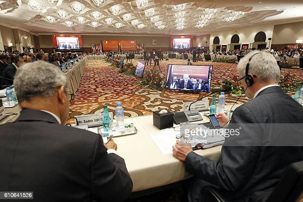 15th International Energy Forum informal meeting of the Organization of Petroleum Exporting Countries in the nation palaces bread club Algiers on