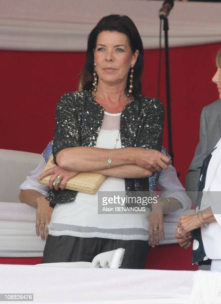 15th Jumping of Monte Carlo in Monte Carlo Princess Caroline of Hanover in Monte Carlo Monaco on June 24th 2010