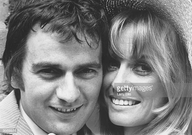 British actor and comedian Dudley Moore and actress Suzy Kendall at the time of their marriage