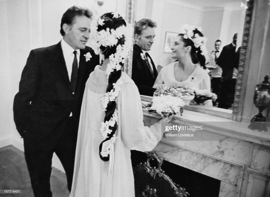 Liz taylor and richard burton wedding