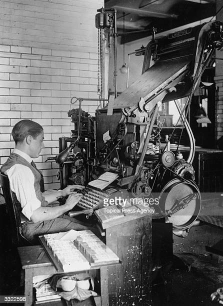 30 Top Linotype Pictures, Photos and Images - Getty Images