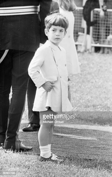 John F Kennedy Jr attends the inauguration of a memorial to his father John F Kennedy in Runnymede Surrey nearly eighteen months after the former...