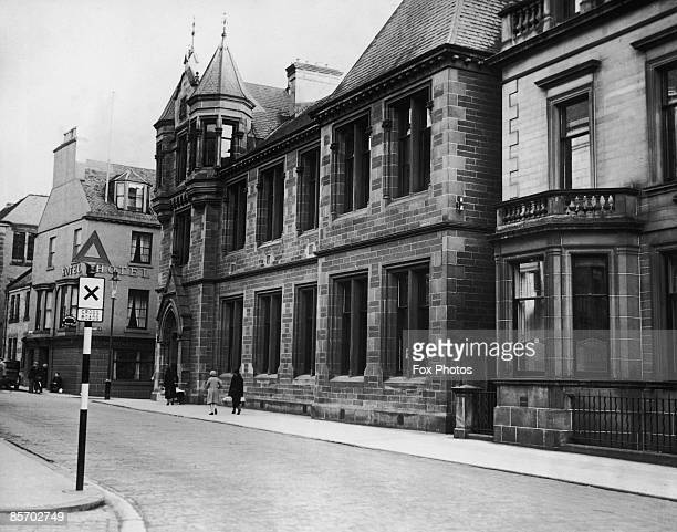 The first Carnegie Library in Dunfermline Scotland opened in 1883 Dunfermline was the birthplace of wealthy industrialist and philanthropist Andrew...