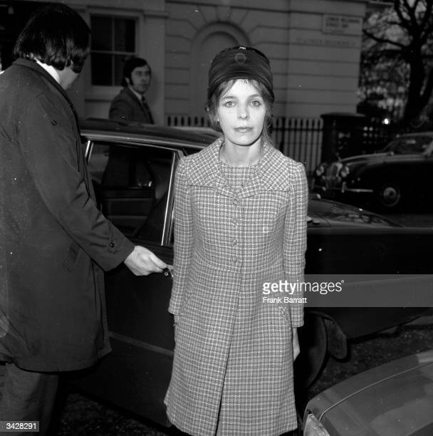 Veronica Lucan the Dowager Countess of Lucan wife of the missing Earl Lord Lucan who disappeared following the murder of their nanny She is returning...