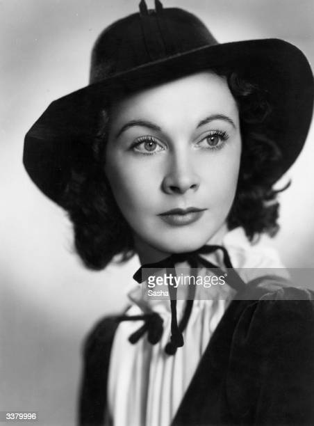 English actress Vivien Leigh as she appears in 'Serena Blandish' at the Gate Theatre