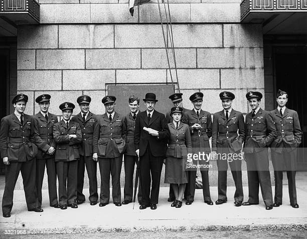 Air aces who won the Battle of Britain on september 15th 1940 meet again on the eve of the second anniversary of the air battle that saved Britain...