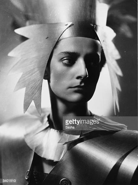 English actress and manager Jean ForbesRobertson as Oberon in an openair production of Shakespeare's 'A Midsummer Night's Dream' in Regents Park...