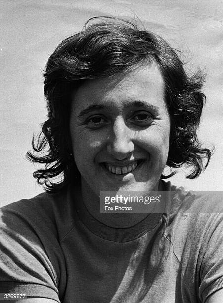 European medalwinner Barbara Inkpen the first British girl to clear 6ft with the Fosbury Flop style of highjumping