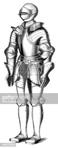 16th century armour 1849 Found in the collection of the Musee d' Artillerie Paris From Le Moyen Age et la Renaissance by Paul Lacroix Ferdinand Séré...