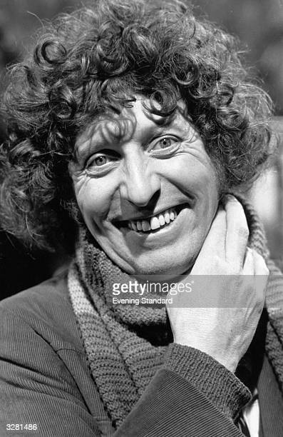 English actor Tom Baker as Doctor Who