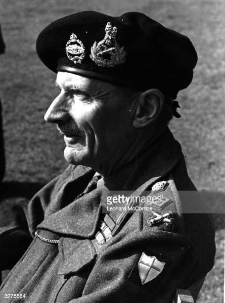 Field Marshal Montgomery of Alamein Original Publication Picture Post 1472 The Man Who Commands Our Forces In Sicily Pulls On His Sweater To Face The...