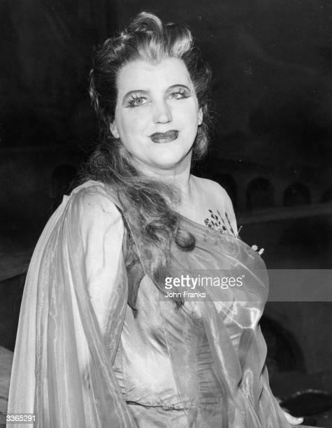 Australian soprano Dame Joan Hammond at Sadler's Wells Theatre London during a rehearsal of 'Russalka'
