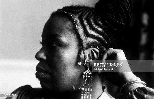 Roberta Flack portrait London 16th January 1973