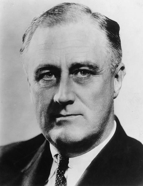 American president, Franklin Delano Roosevelt .