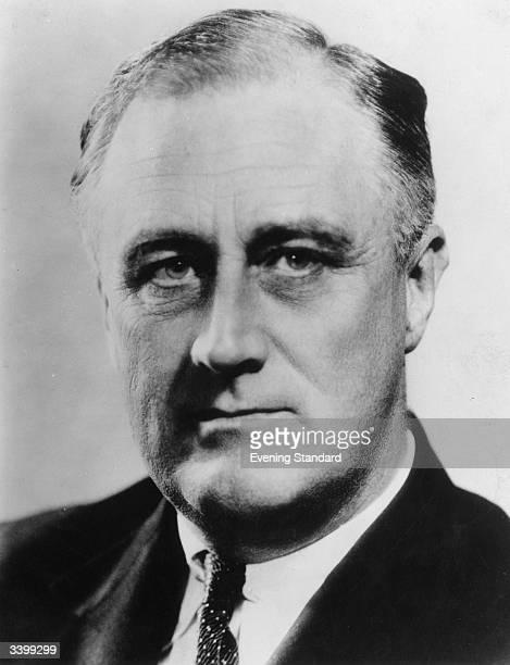 American president Franklin Delano Roosevelt