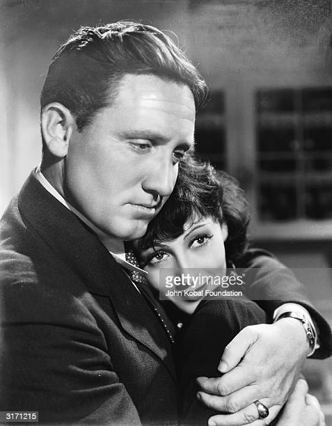 Spencer Tracy and Luise Rainer star in 'The Big City' a tale of urban corruption directed by Frank Borzage