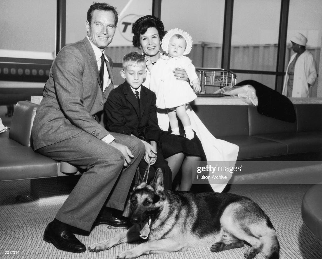 Heston Family : News Photo