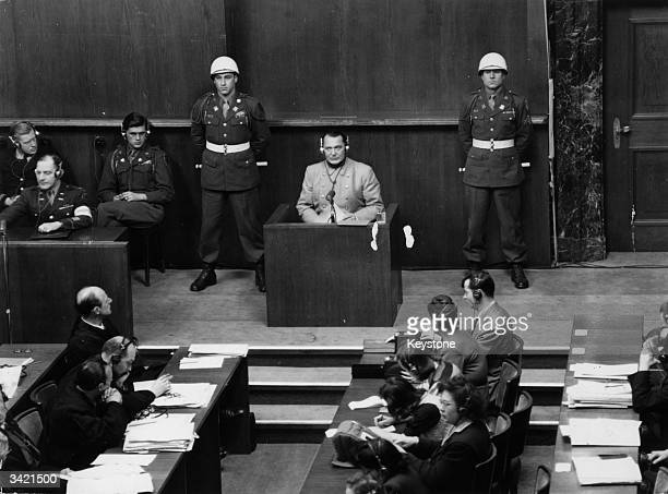 Nuremberg Trials Pictures and Photos - Getty Images