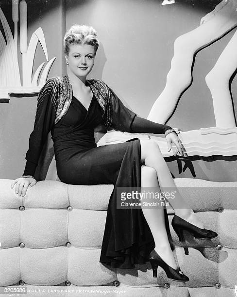 English actress Angela Lansbury best known as the crimesolving Jessica Fletcher in television's 'Murder She Wrote'