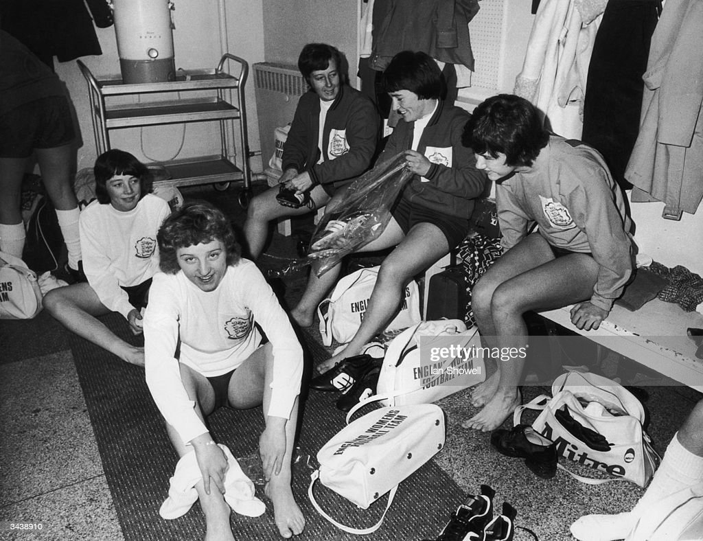 England Ladies : News Photo