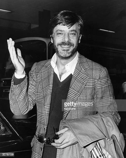 Giancarlo Giannini the superstar and sex symbol arrives in London for the London Film Festival screening of 'The Intruder' later renamed 'The...