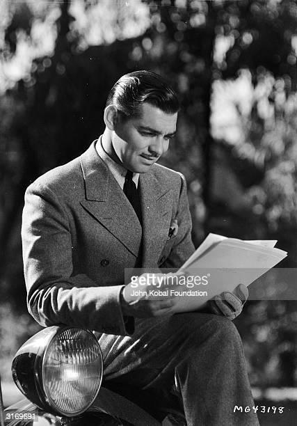 American leading man Clark Gable