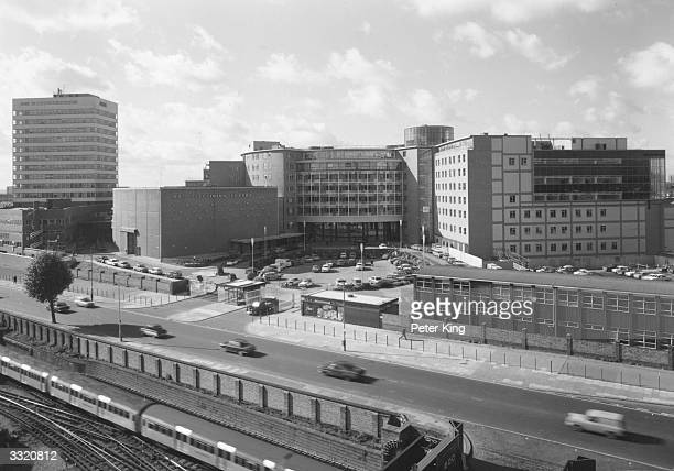 The British Broadcasting Company Television Centre at White City London