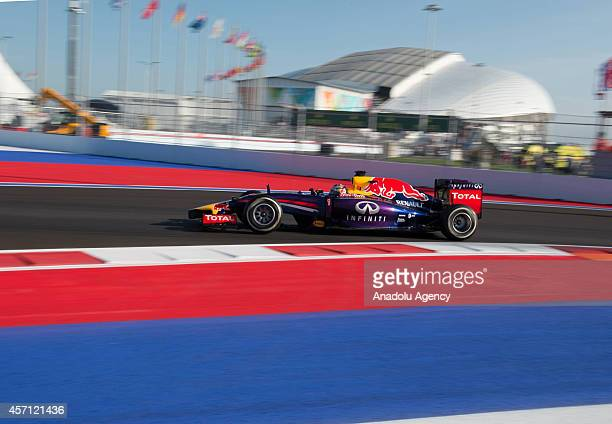 16th race of the 2014 Formula 1 Russian Grand Prix is held in Sochi Russia on October 12 2014
