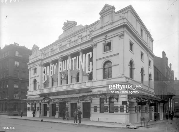 The Shaftesbury Theatre in Shaftesbury Avenue central London