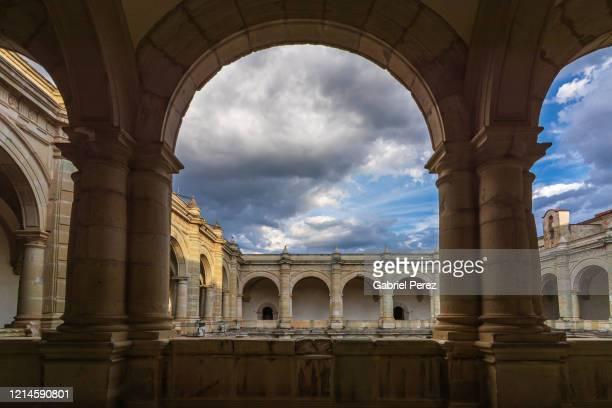 a 16th spanish colonial architectural image of santo domingo de guzman monastery - roman gabriel stock pictures, royalty-free photos & images