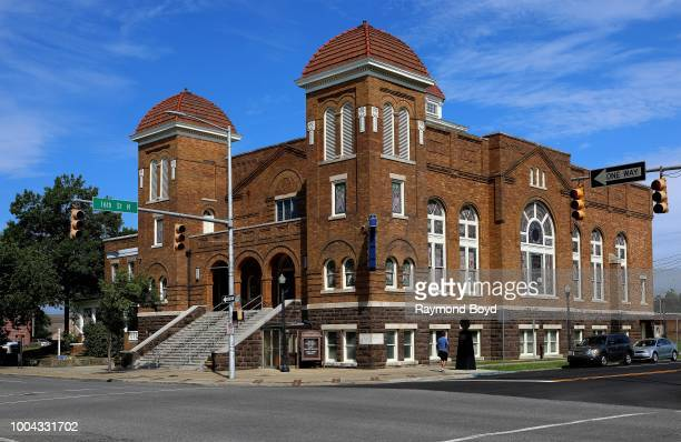 16th Street Baptist Church site of the September 15 1963 Church bombing in Birmingham Alabama on July 7 2018