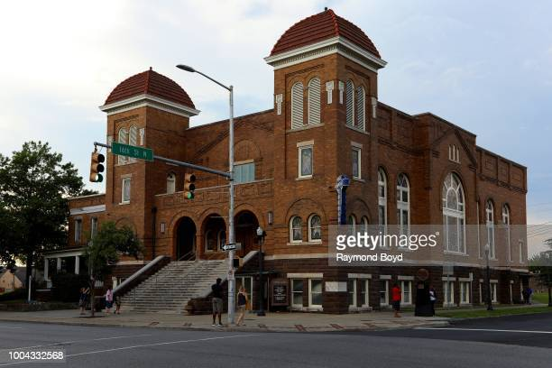 16th Street Baptist Church site of the September 15 1963 Church bombing in Birmingham Alabama on July 5 2018