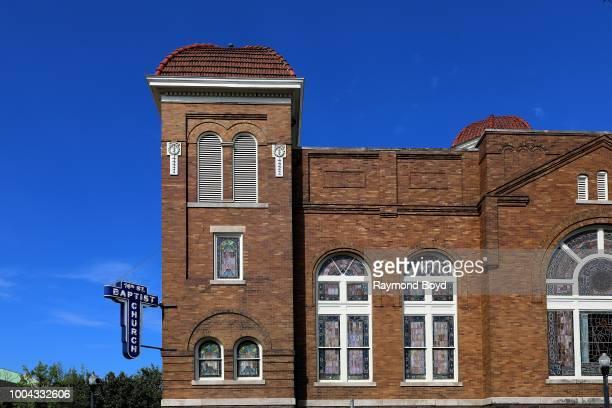 16th Street Baptist Church site of the September 15 1963 Church bombing in Birmingham Alabama on July 7 2018