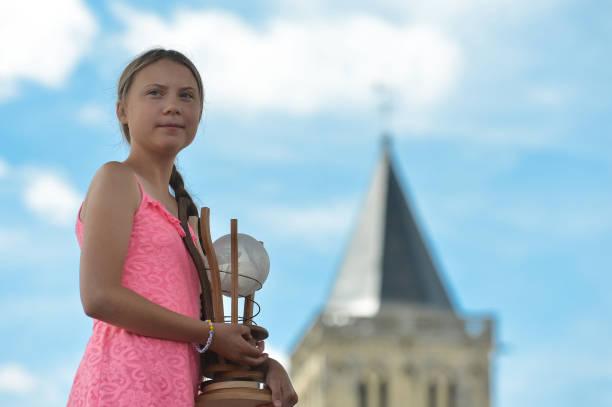 FRA: Activist Greta Thunberg Receives 2019 Freedom Award In Caen