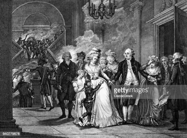 1700s KING LOUIS XVI BIDS...